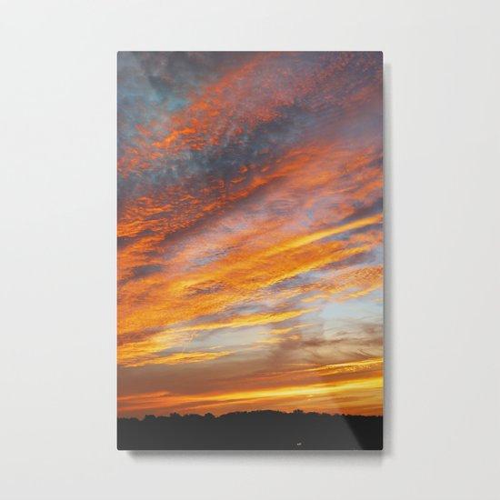 Ohio sunset 1 Metal Print