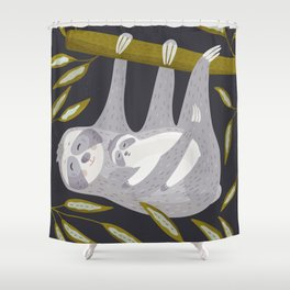 Love you – Sloth Shower Curtain