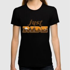 jr Womens Fitted Tee Black SMALL