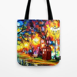 Tardis Dr Who Tote Bag