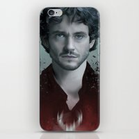 will graham iPhone & iPod Skins featuring Will Graham by Alba Palacio