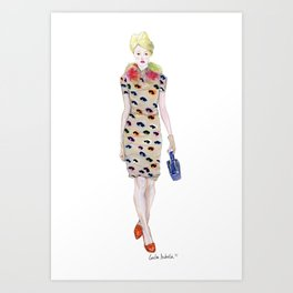 Moschino Cheap & Chic AW 2012  Art Print