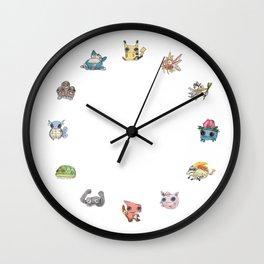 Pokémans! 151 Lazy-Drawn Pocket Monsters ( Wall Clock