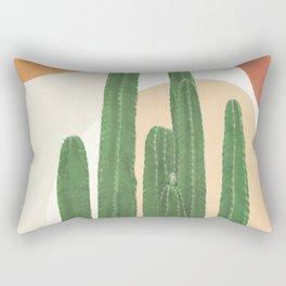 Abstract Cactus I Rectangular Pillow