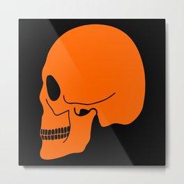 Halloween skull Metal Print
