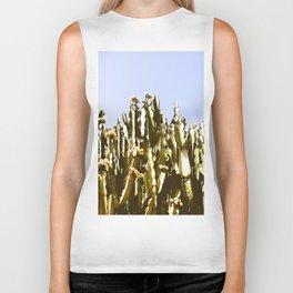 Sticky Cacti Biker Tank