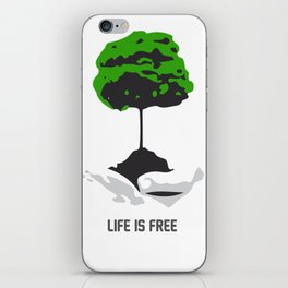 Cost of life iPhone Skin