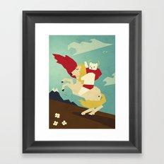 Forward! Framed Art Print