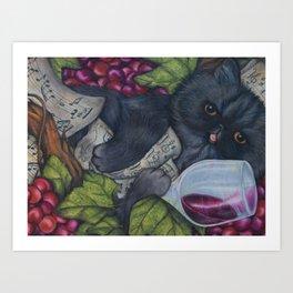 Mama Brandy Art Print