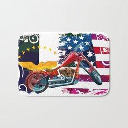 Azorean American Motard Bath Mat