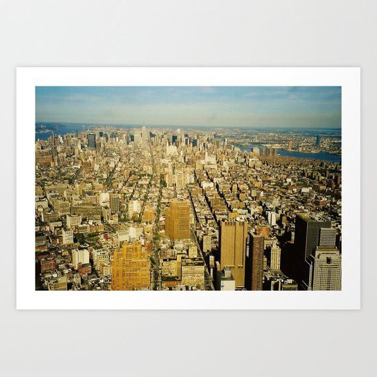 NEW YORK 4 Art Print