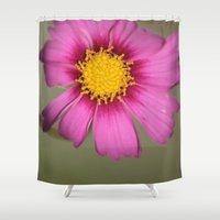 cosmos Shower Curtains featuring Cosmos by Stecker Photographie
