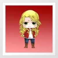 ouat Art Prints featuring OUAT - Chibi Emma Swan by Yorlenisama