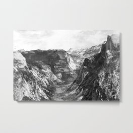Tenaya Canyon Metal Print