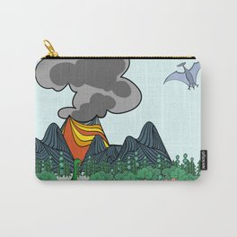 Dino Scene Carry-All Pouch
