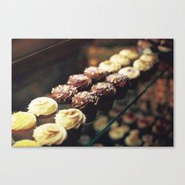 Cupcake corner bakery Canvas Print