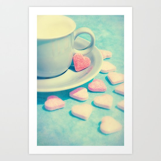 BE MY VALENTINE ♥ Art Print