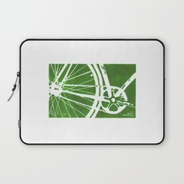 Green Bike Laptop Sleeve
