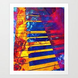 Piano Art Art Print