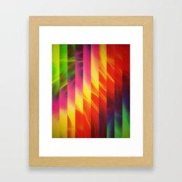 Glorious Stripes Framed Art Print