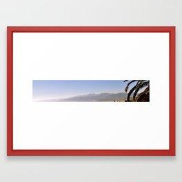 Las Montañas Framed Art Print