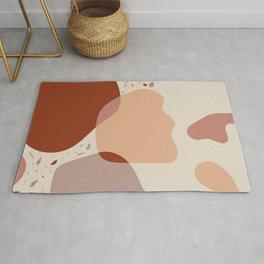 Abstract - Sand  & Stones II Rug