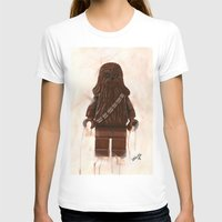 chewbacca T-shirts featuring Lego Chewbacca by Toys 'R' Art