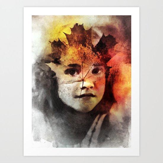 Leafe Art Print