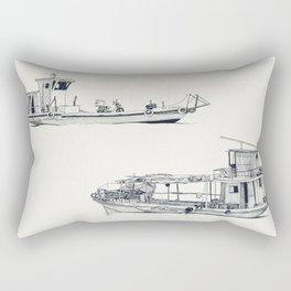 On paper: Pity Pity II y Nueva Orquidea Rectangular Pillow