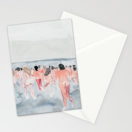 Skinny Dip Run Stationery Cards