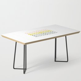 Bonjour in Pretty Pastels Coffee Table