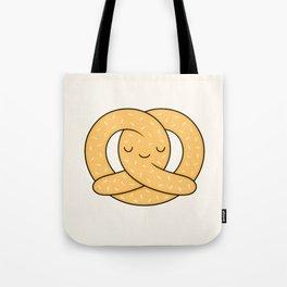 Happy Pretzel Tote Bag