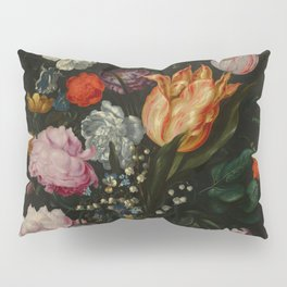 "Jacob de Gheyn II ""Flowers in a Glass Flask"" Pillow Sham"