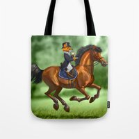swag Tote Bags featuring Swag by kajoo art