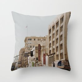 Downtown Los Angeles IV Throw Pillow
