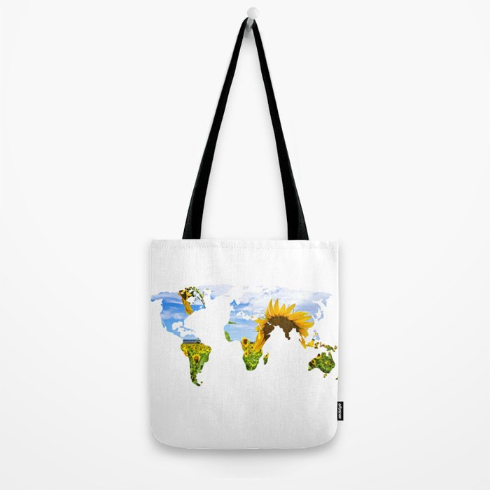 World of Sunflowers Tote Bag