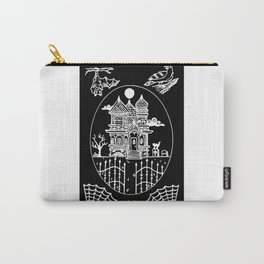 Ominous Victorian House Invert Carry-All Pouch