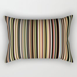 Old Skool Stripes - The Dark Side Rectangular Pillow