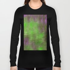 Green Color Fog Long Sleeve T-shirt