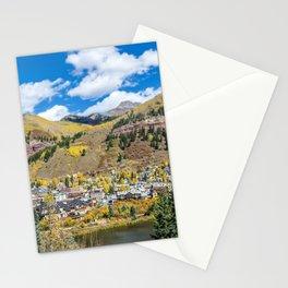 Telluride Tiltshift Stationery Cards