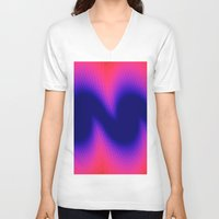 wings V-neck T-shirts featuring Wings by Brian Raggatt