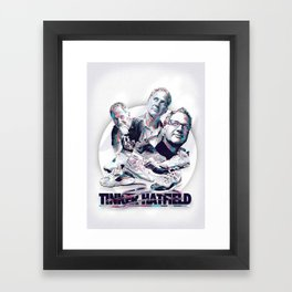 TINKER HATFIELD: DESIGN HEROES Framed Art Print