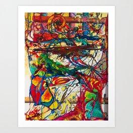 Burora Aorealis Art Print