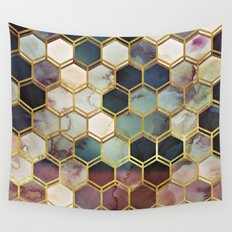 RUGGED MARBLE  Wall Tapestry