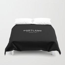 Portland - OR, USA (Arc) Duvet Cover