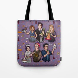 Friends TV Show - Monica Chandler Rachel Ross Phoebe Joey Tote Bag