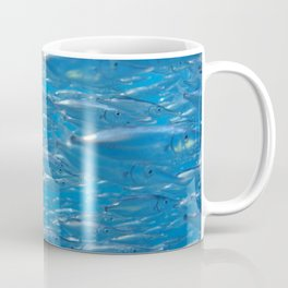 Fish shoal of common bellowsfish Coffee Mug