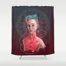 Ishiee: Moonlight Shower Curtain