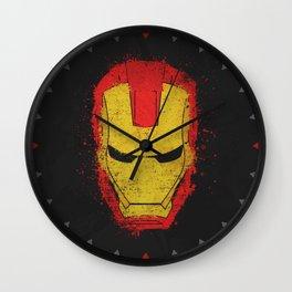 Iron Man splash Wall Clock