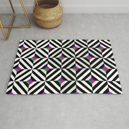 Original Geometric Pattern Design Rug